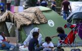 Tábor pri dedine Traiskirchen