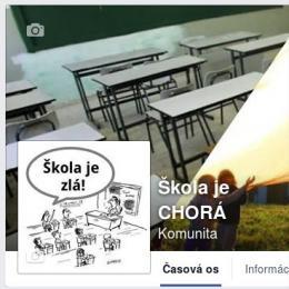 FB: Škola je CHORÁ!!!
