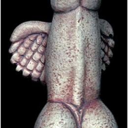 Okrídlený kokot z Dionýzovho chrámu v Grécku, 300 p.n.l.